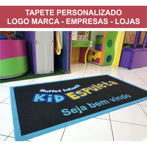 TAPETE PERSONALIZADO SOB MEDIDA  - Zap Tapetes e Capachos Personalizados