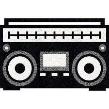 Tapete Rádio Retrô - 60x40 Cm  - Zap Tapetes e Capachos Personalizados