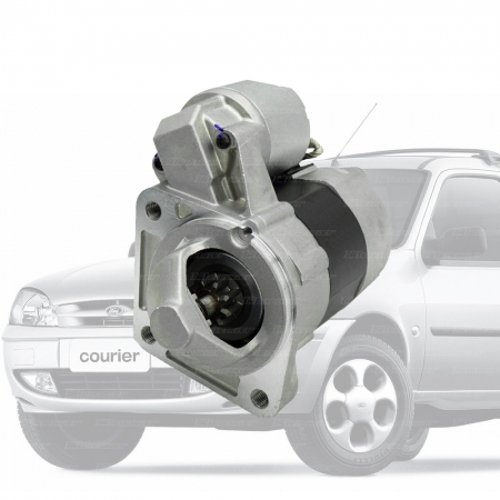 Motor de Partida 12V 9D FORD Fiesta ka Courier Eco. Z. ROCAM