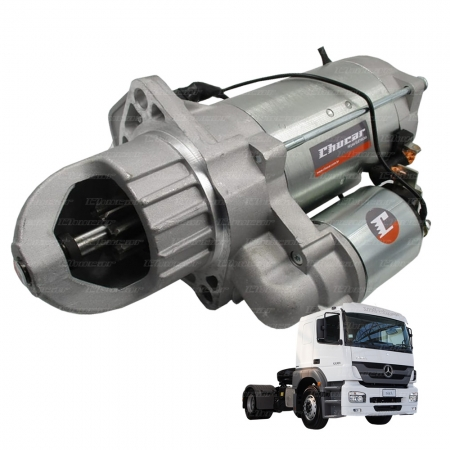 MOTOR DE PARTIDA MBB ATEGO / AXOR ELETRONICO 24V 9D EV (Substitui 28MT)