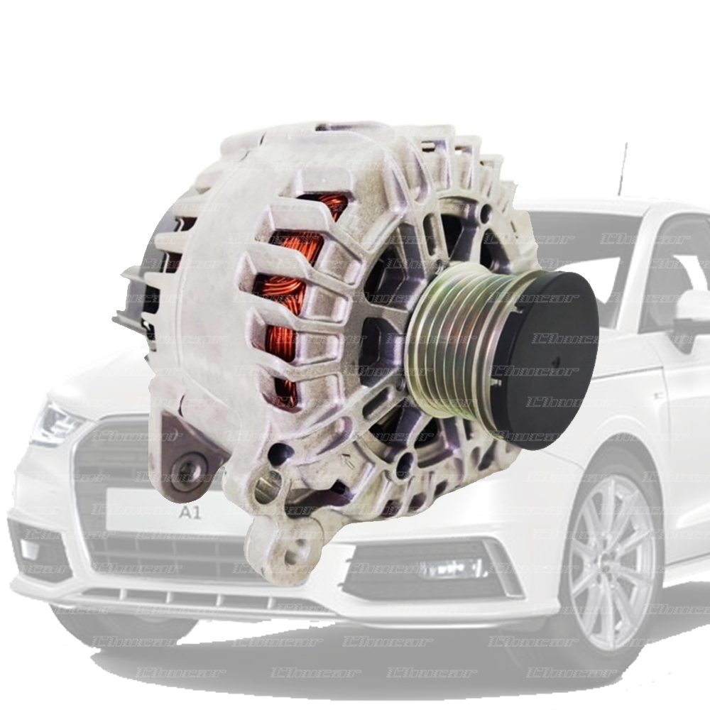 ALTERNADOR AUDI A1/AR/TT E VW GOLF/AMAROK/PASSAT 140A