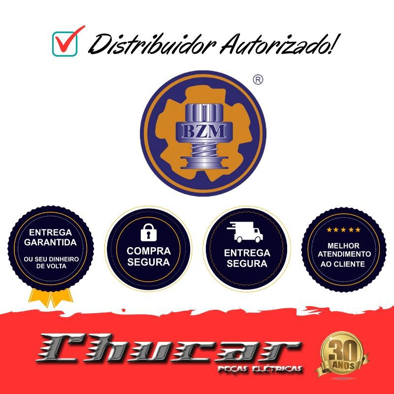 BZM0595 IMPULSOR DE PARTIDA HYSTER/MAZDA/PAJERO/ECLIPSE/ELANTRA