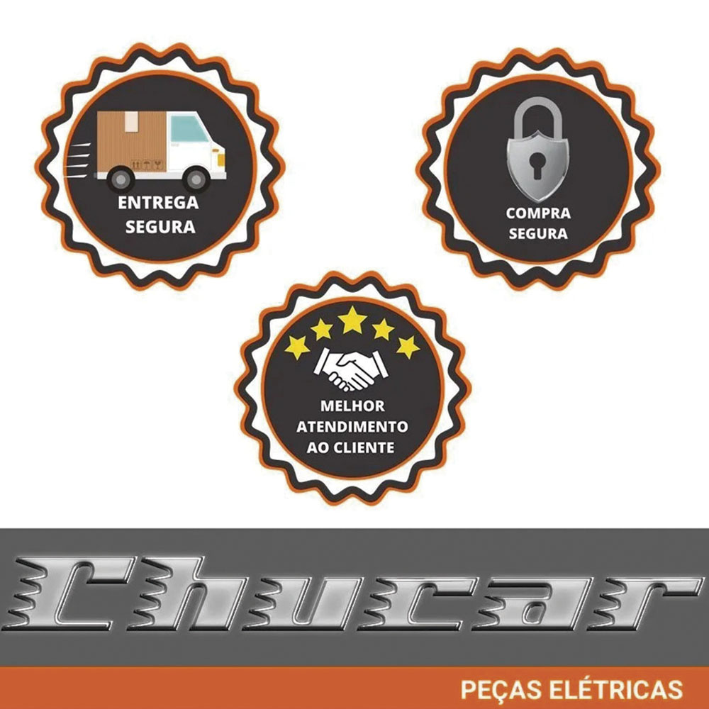 Conector Chicote Flange Bomba Combustível Peugeot 6 Vias