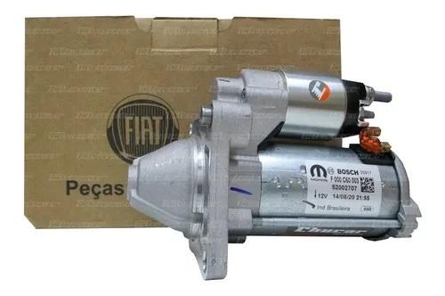 Motor Arranque Partida Fiat Doblo Palio Strada 1.4 Fire
