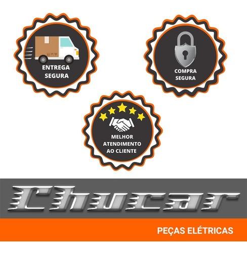 MOTOR DE PARTIDA CLIO/KANGOO 1.0/ PEUGEOT 206 (2 FUROS NA FIXAÇÃO) 1.2 12V 0.8KW