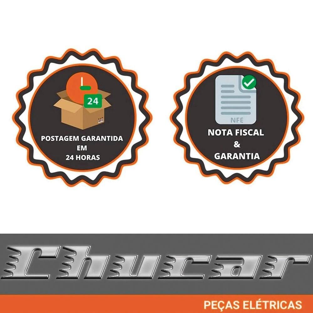 MOTOR DE PARTIDA EFFA  / TOWNER  / CHANA  (PICAPE - VAN - FURGÃO) 12V 8D