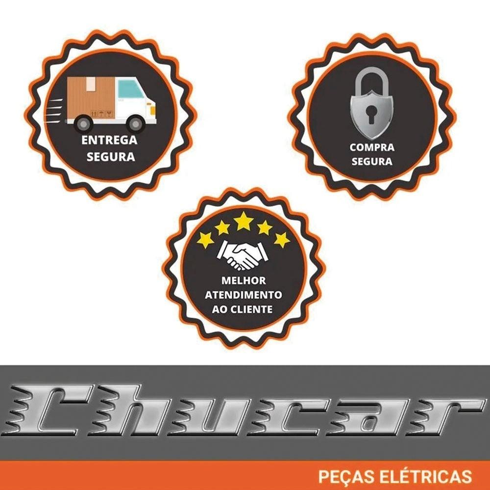 MOTOR DE PARTIDA SCANIA 124 SERIE P/R/T (SÉRIE 4/5)  24V 12D
