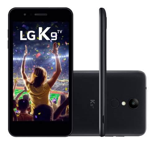 Smartphone Lg K9 Tv 5'' 16gb Preto 8mp