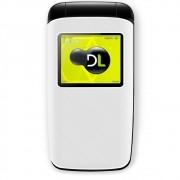 Celular Flip DL Yc330 2 Chip Câmera Fm Bateria Longa Duração