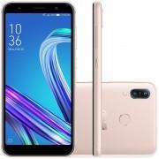 Smartphone Asus Zenfone Max M3 64gb 4gb Ram 13mp Tela 5.5 Dourado