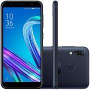 Smartphone Asus Zenfone Max M3 64gb 4gb Ram 13mp Tela 5.5 Preto
