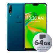 Smartphone Asus Zenfone Max Shot 3gb 32gb+32gb 3gb Ram Dual Tela 6,2 Azul
