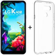 Smartphone Lg K40s 6.1'' 32gb 4g 3gb Ram 13+5mp Preto + Capa/película Grátis