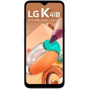 Smartphone LG K41s 32gb 3gb Ram Preto 4g Octa Tela 6,55 Câmera Quádrupla