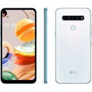 Smartphone LG K61 Branco 128gb 4gb Ram Tela 6,5'' 4 Câmeras 4000mAh