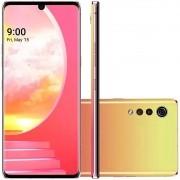 Smartphone LG Velvet Illusion Sunset 6,8'' 4g Octa Core 128gb 6gb Ram 3 Câmeras