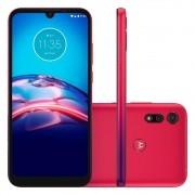 Smartphone Motorola E6S Vermelho 32gb 2gb Ram Tela 6.1