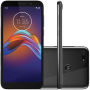 Smartphone Motorola Moto E6 Play 5,5'' 32gb 2gb Ram 13 Mp Cinza