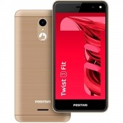 Smartphone Positivo S509c Twist 3 Fit 32gb Tela 5 3g Dourado
