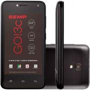 Smartphone Semp Go 3c 4' Quadcore 8gb 1gb Ram 5mp Dual Chip