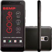 Smartphone Semp Go 3e Preto 5'' 8gb Câmera 5+8Mp 3g