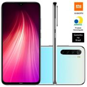 Smartphone Xiaomi Redmi Note 8, 128gb, 48mp, Tela 6.3 Branco