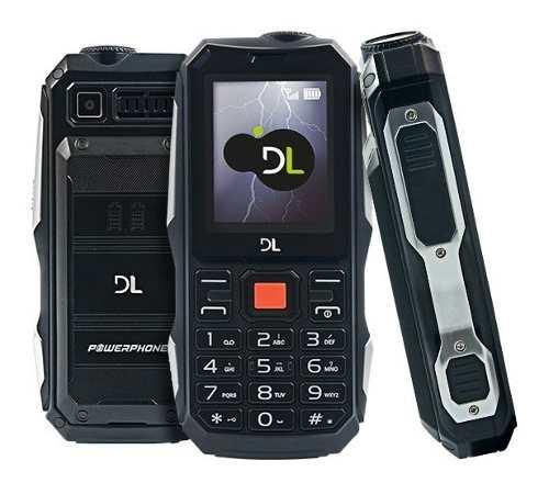 Celular DL Powerphone Dual Chip Função Powerbank