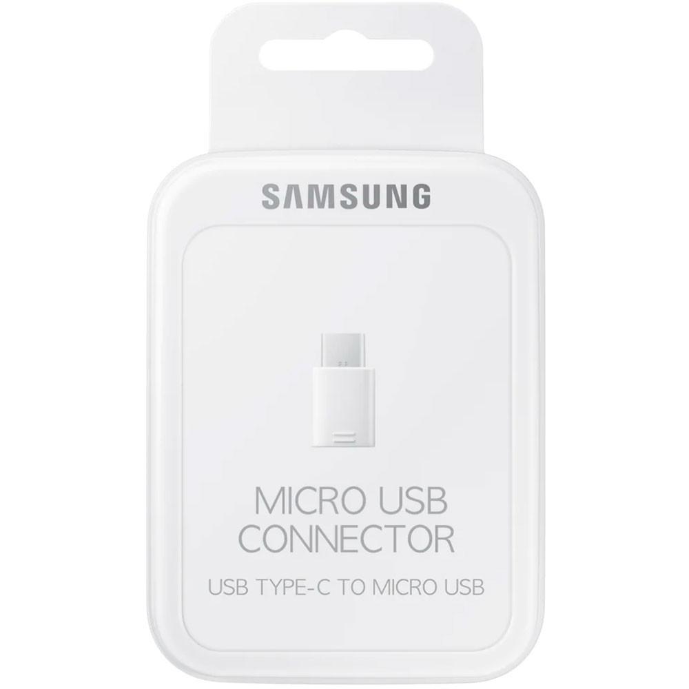 Adaptador Tipo Micro Usb Para Tipo C Samsung Branco Original