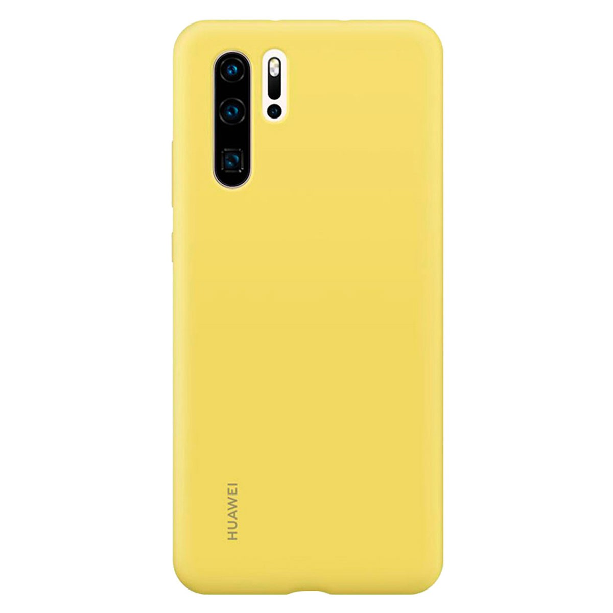 Capa Protetora Silicone Huawei P30 Pro Amarela Original