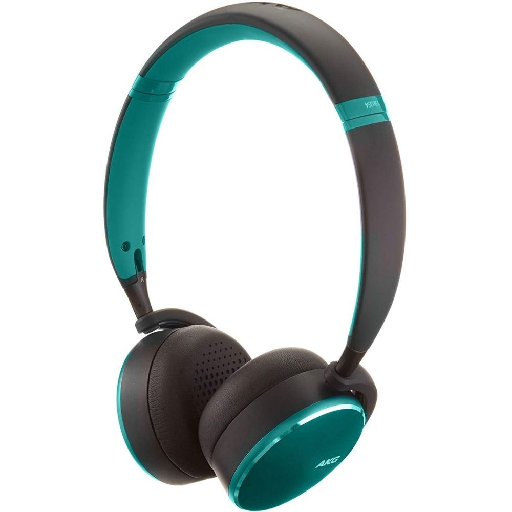 Fone De Ouvido Samsung Estéreo Bluetooth On Ear Akg Y500 Verde Original