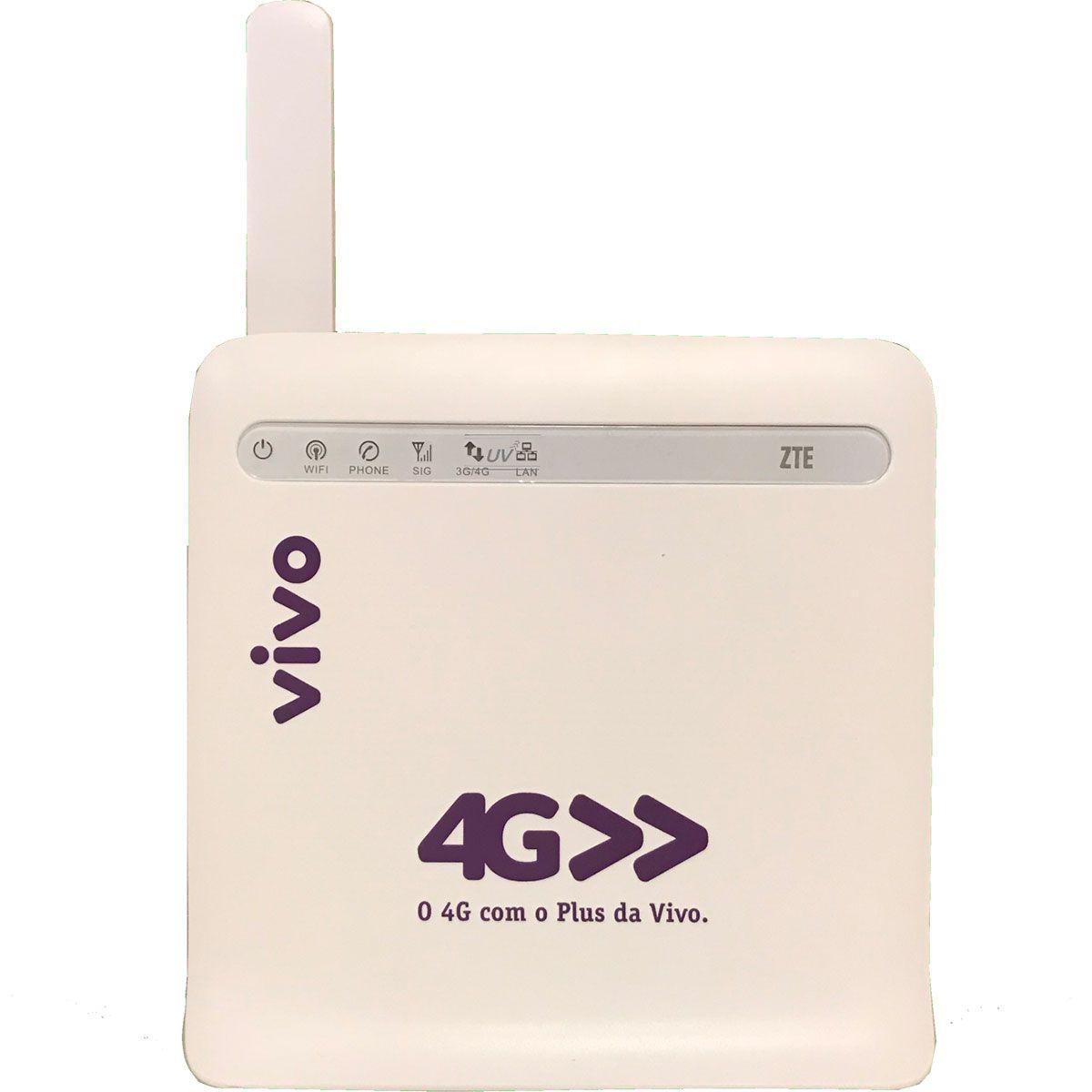 Modem Roteador Zte Vivo Mf253m 4.5g Wifi Desbloqueado