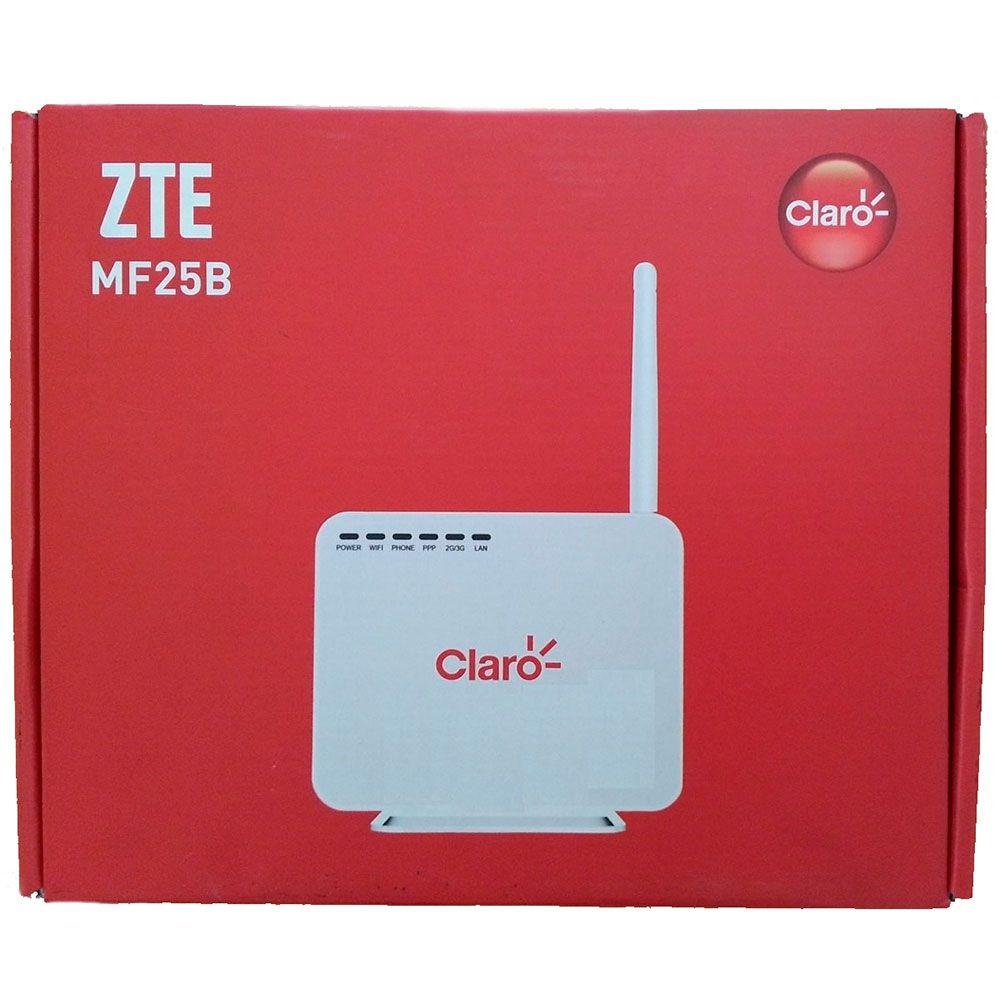 Modem Zte Mf25b 3g Wifi Claro