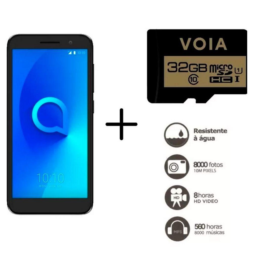 Smartphone Alcatel 1 Tela 5'' 4g 40gb (8gb+32gb Cartão Sd)