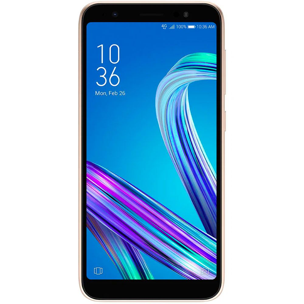Smartphone Asus Zenfone Live L2 Dourado 32gb 2gb Ram Tela 5.5