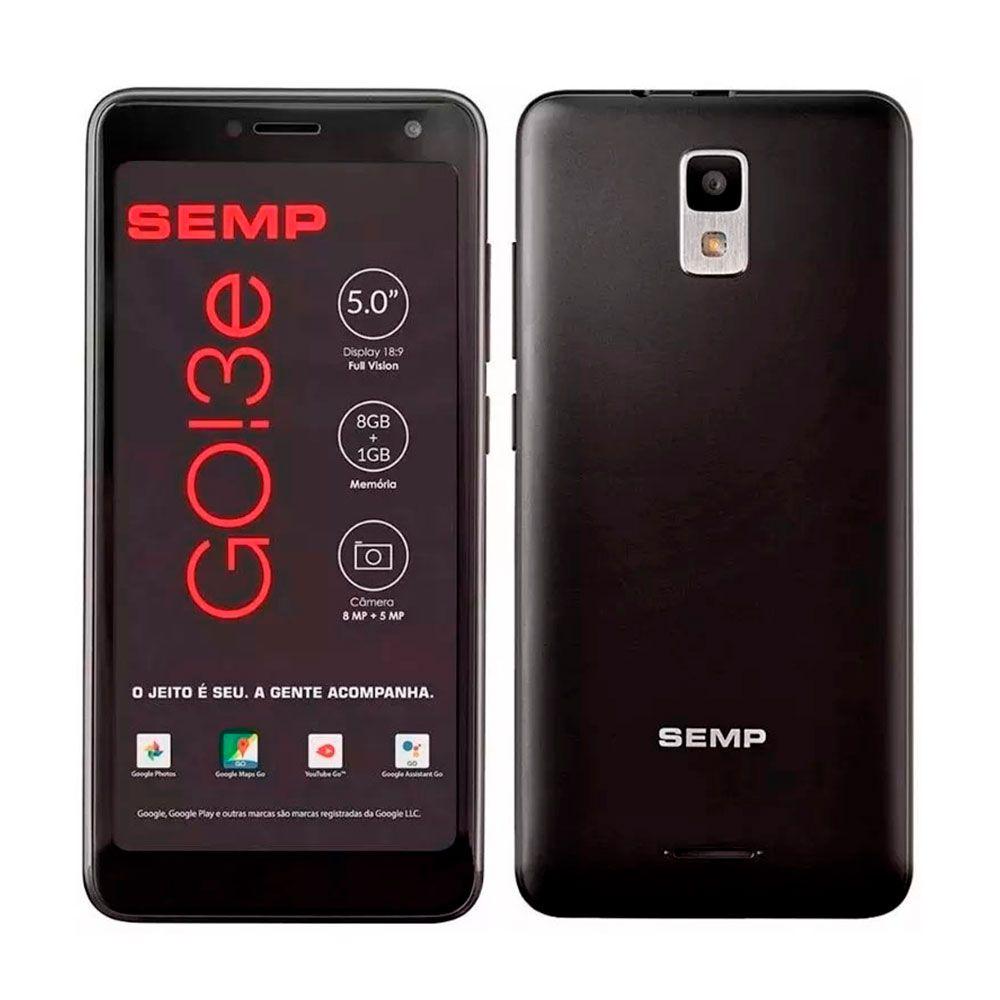 Smartphone LG G8S Thinq 6,2'' 128GB + 2 Unidades Smartphone Semp Go 3e 5''