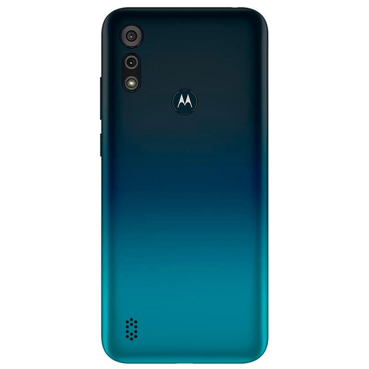 Smartphone Motorola E6s Azul Navy 32gb 2gb Ram Tela 6.1