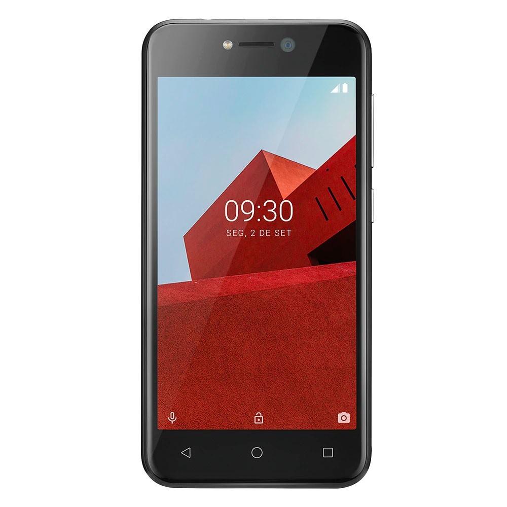 Smartphone Multilaser E 32gb 3G Tela 5.0 Dual Câmera Preto - P9128