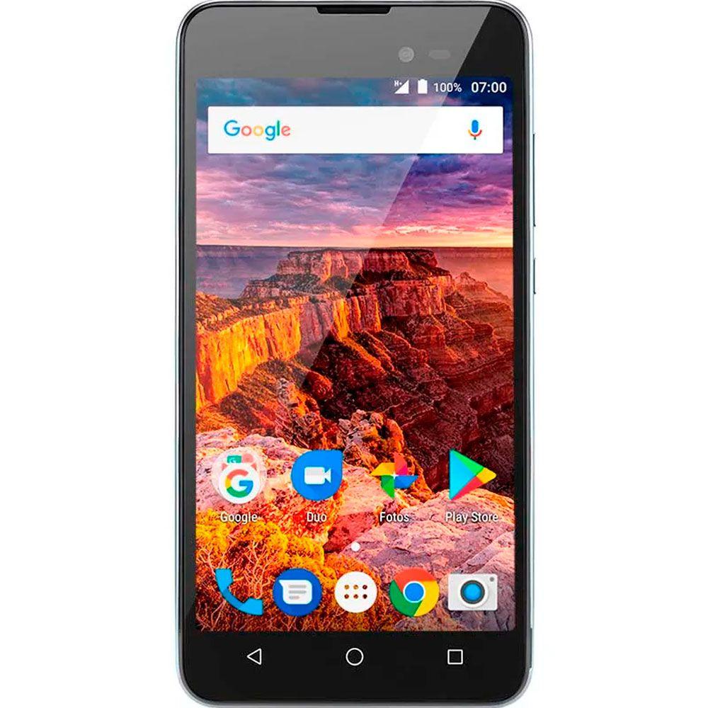 Smartphone Multilaser MS50L 3g 8gb Quadcore Tela 5 Dual Cinza