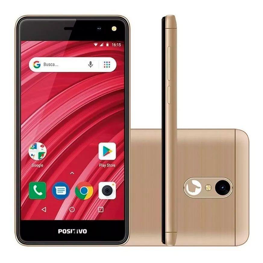 Smartphone Positivo S509 Twist 2 Fit 5'' 8gb 5+5mp 3g