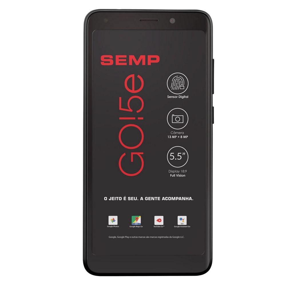 Smartphone Semp Go 5e 5,5'' 16gb, Câmera 13+8 Mp 4g