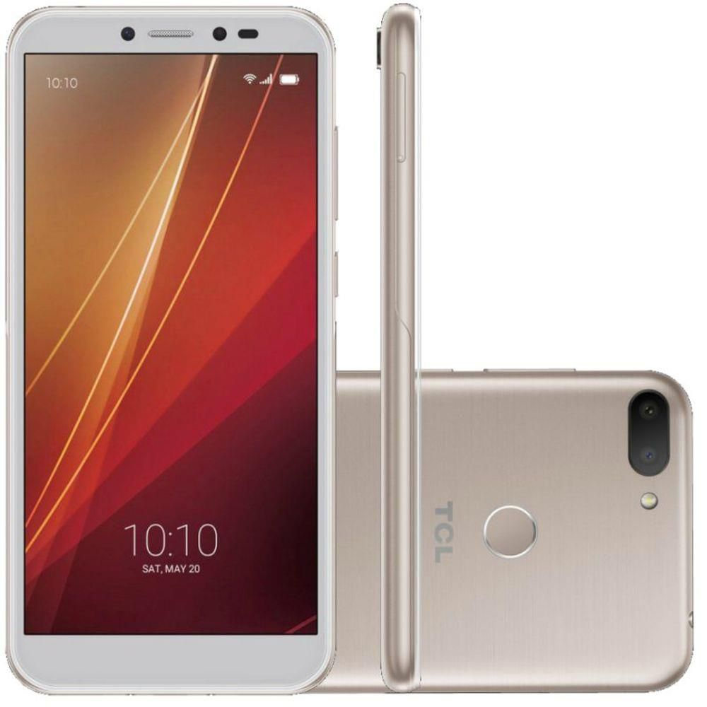 Smartphone Tcl L10 Dual Chip Android 9 Tela 5.5 32gb Dourado