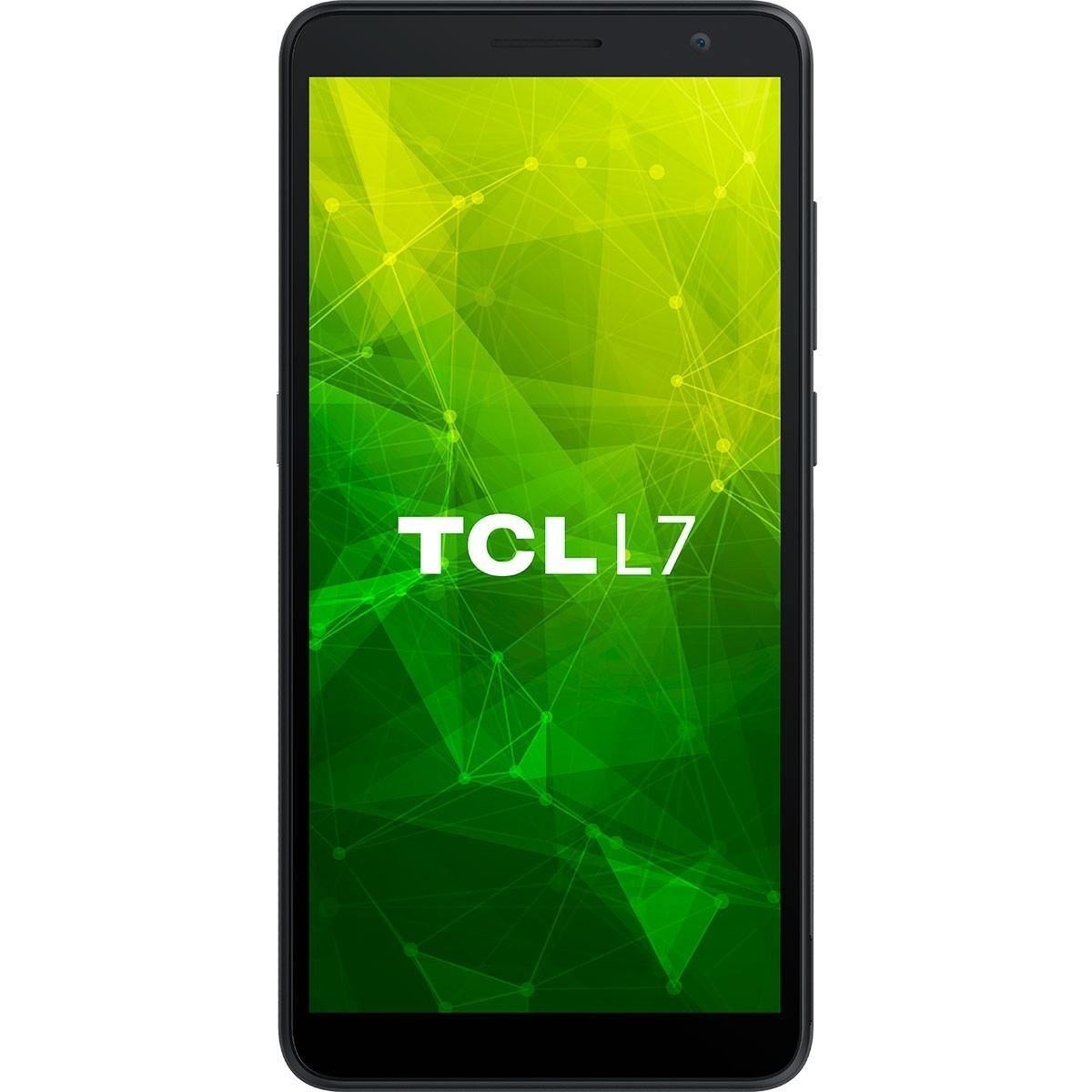 Smartphone TCL L7 Preto Dual Tela 5.5'' 4G 32GB 2GB Ram Quad-Core 8MP+5MP + Capa e Película