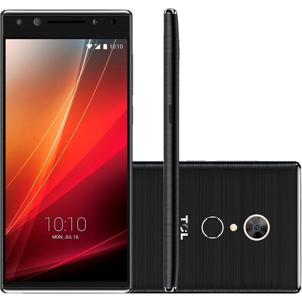 Smartphone Tcl T7 Preto 5,7'' 32gb 3gb Ram 4g