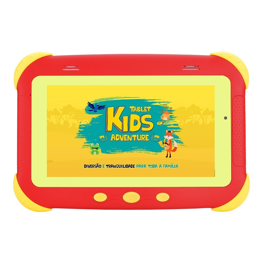 Tablet DL Kids Adventure 7 Vermelho 8gb 1gb Ram Wifi Tx400vrm