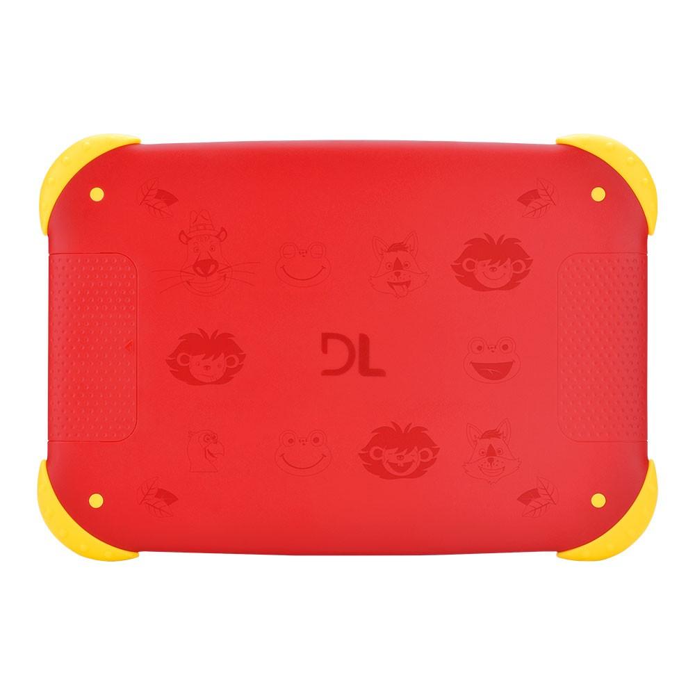 Tablet DL Kids Adventure 7 Vermelho 8gb 1gb Ram Wifi Tx400vrm