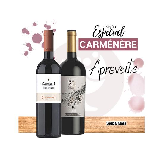 vinhos carmenere