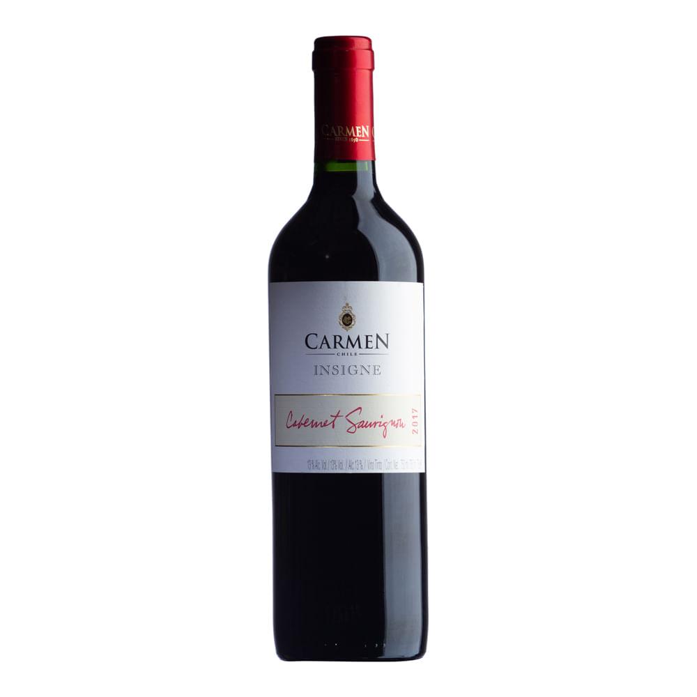 Vinho Carmen Insigne Carmenere 2017 - 750ml