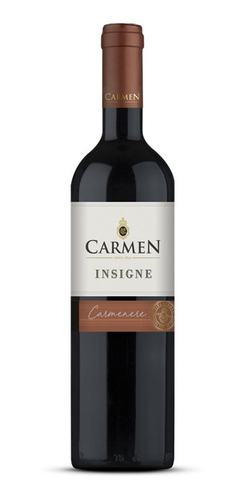Vinho Carmen Insigne Carmenere - 750ML