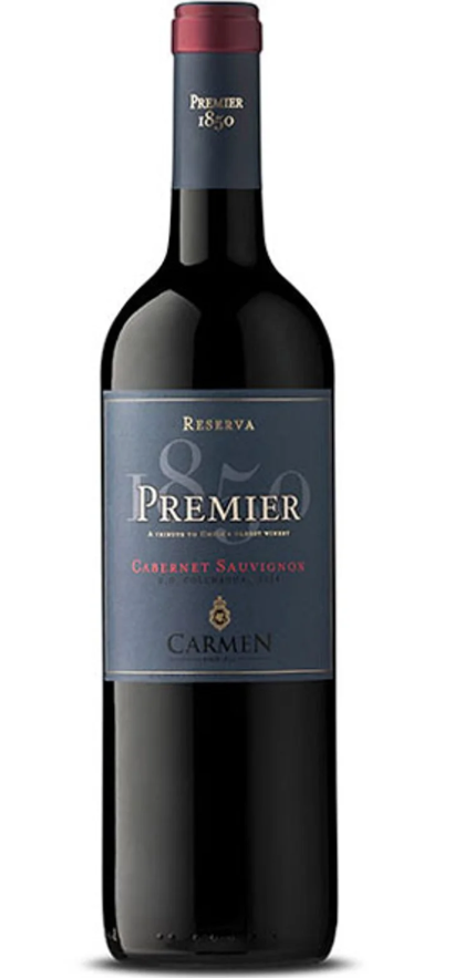 VINHO CARMEN PREMIER CABERNET SAUVIGNON - 750ML