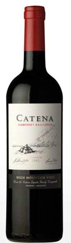 VINHO CATENA CABERNET SAUVIGNON - 750ML